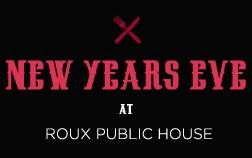 NYE Soiree at ROUX Public House feat. S.k.B.