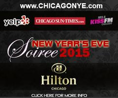 New Years Eve Soiree 2015 at Hilton Chicago w/ Kiss FM, Yelp,...
