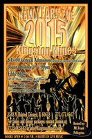 NEW YEAR'S EVE 2015 at KINGSTON MINES!