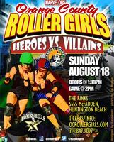 OC Roller Girls -Flat Track Roller Derby Fresh Meat...