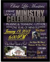 First Annual Ministry Celebration of...