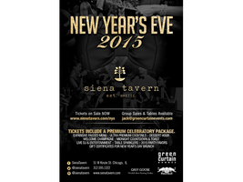 New Year's Eve at Siena Tavern By Green Curtain Events