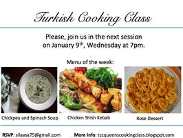 TURKISH COOKING CLASS SESSION 5