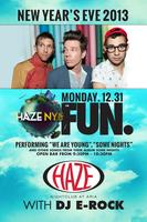 New Year's Eve with FUN at HAZE Nightclub