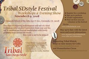 Tribal SDstyle 3 Festival & Workshops
