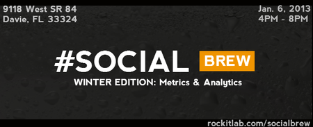 #SocialBrew Winter Edition: Metrics & Analytics