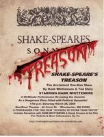 SHAKE-SPEARE'S TREASON  featuring Hank Whittemore in...