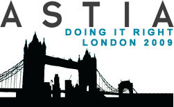 Astia Doing it Right London 2009: Programme