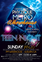Fire & Ice Middle School Teen Party