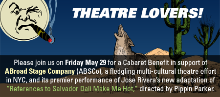 ABroad Stage Company's Cabaret Benefit