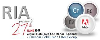 Chennai CFUG: ColdFusion and Flash Platform Pre Launch...