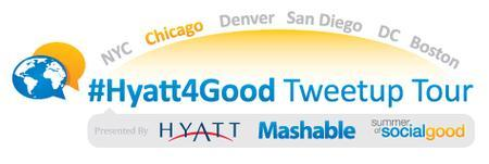 #Hyatt4Good Tweetup Tour Chicago