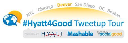 #Hyatt4Good Tweetup Tour Denver