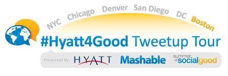 #Hyatt4Good Tweetup Tour Boston
