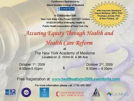 Assuring Equity Through Health and Health Care Reform