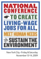 National Conference to Create Living Wage Jobs For...