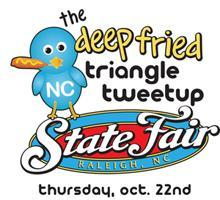 Deep Fried Triangle Tweetup at the NC State Fair