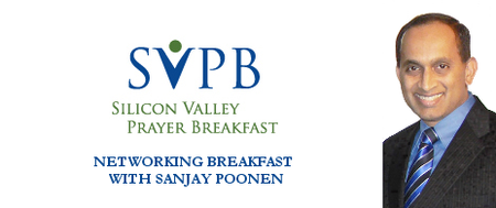 SVPB Networking Breakfast with Sanjay Poonen