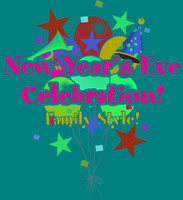 New Year's Eve Celebration and Balloon Drop at Noon