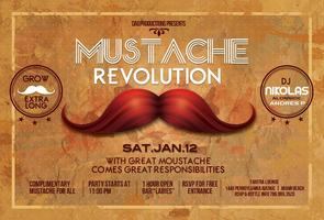 MUSTACHE REVOLUTION AT TANTRA LOUNGE MIAMI BEACH