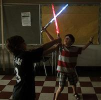 build your own lightsaber!