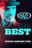Mr. Best Guest DJ Set @ HAZE Nightclub at ARIA