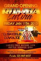 "The Grand Opening of ""rumba Latina"" at ELEMENT"