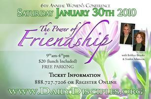 The Power of Friendship Conference
