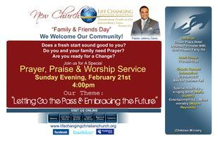 Church Family & Friends Day Community Event