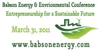 2010 Babson Energy & Environmental Conference:...