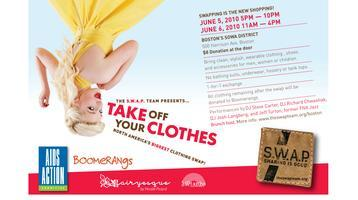Take Off Your Clothes - Boston's Biggest Clothing Swap!