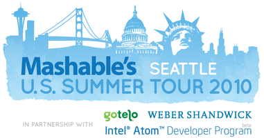 Mashable U.S. Summer Tour - Seattle