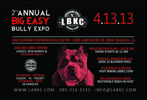 Big Easy Bully Expo 2013
