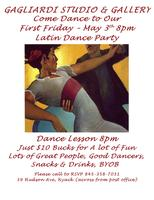 FIRST FRIDAY LATIN DANCE PARTY
