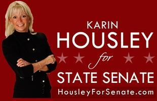 Governor Pawlenty Joins Rally for Karin Housley at the...