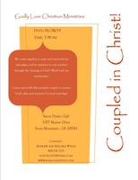 Coupled in Christ Marriage Fellowship