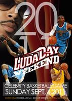 LUDADAY WEEKEND-CELEBRITY BASKETBALL GAME