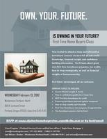 St. Johns First Time Home Buyers Class