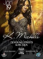 K. Michelle Live at ISIS Houston