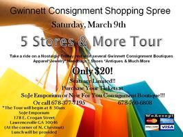 Gwinnett Consignment Shopping Spree...