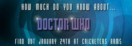 Doctor Who Trivia Night
