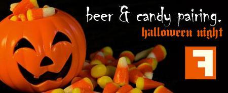 Beer and Halloween candy pairing