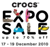 Crocs Expo Sale 2010 - Private Sale
