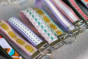 Make a Key Ring Wristlet for Grades 3 and up!