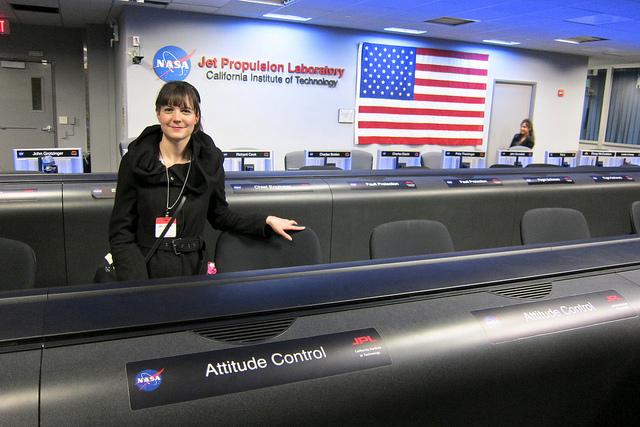 Ariel Waldman at JPL - The Interval Sept. 30