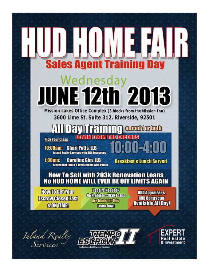 HUD Training June 12th