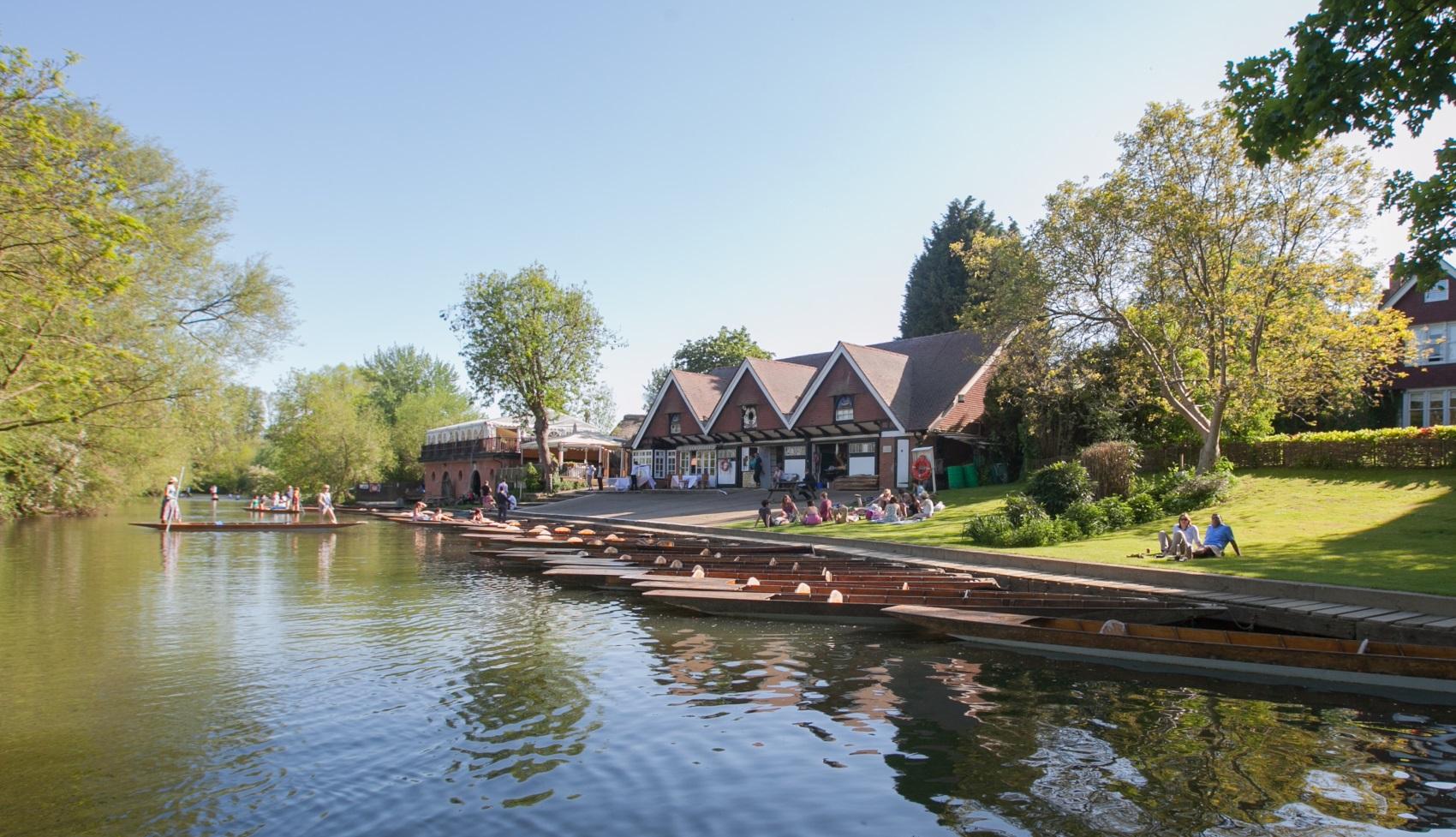 The Cherwell Boathouse