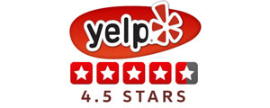 Image result for 4.5 rating yelp