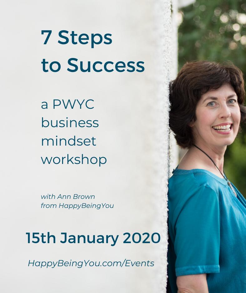 7 Steps to Success workshop