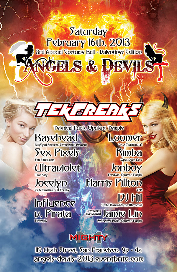 Angels and Devils Costume Ball 2013 Poster